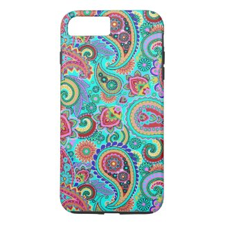 Colorful Retro Paisley 2a