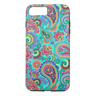 Colorful Retro Paisley 2a iPhone 8 Plus/7 Plus Case