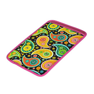 Colorful Retro Paisley & Diamonds Pattern Sleeve For MacBook Air