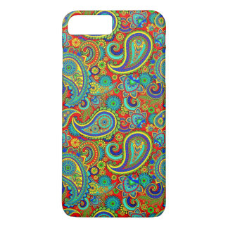 Colorful Retro Paisley iPhone 8 Plus/7 Plus Case