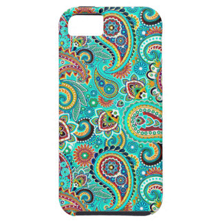 Colorful Retro Paisley iPhone SE/5/5s Case
