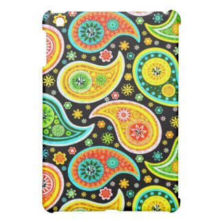 Colorful Retro Paisley Pern-Warm Tones Cover For The iPad Mini