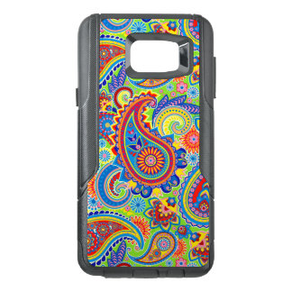 Colorful Retro Paisley Seamless Pattern OtterBox Samsung Note 5 Case