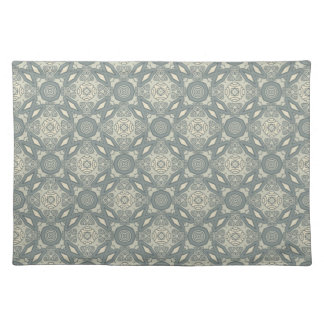 Colorful retro pattern background 5 placemat