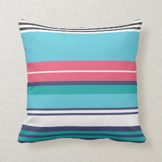 Colorful retro pop pattern pillows
