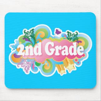 Colorful Retro Second Grade Mouse Pad