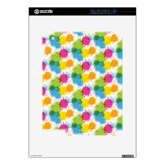 Colorful retro Starburst pattern Skin For The iPad 2