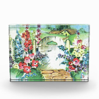 Colorful Retro Style Vintage Country Flower Garden Award