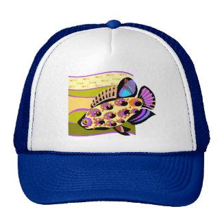 Colorful Retro Tropical Fish Trucker Hat
