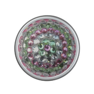 Colorful Rhinestone Bluetooth Bumpster Speaker
