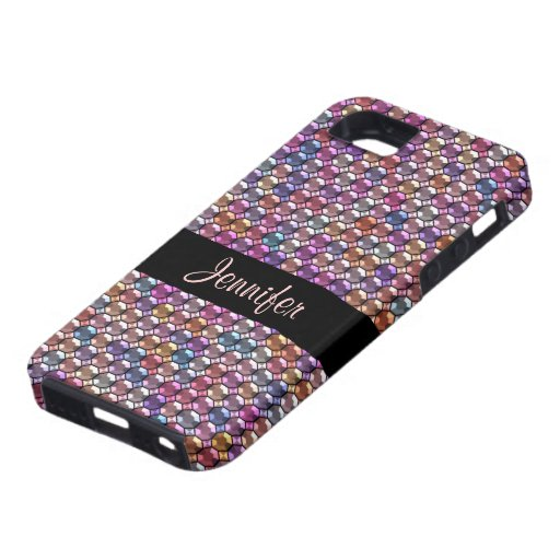 iphone 5 cases designer colorful rhinestone with custom name iphone se 5 5s 14497