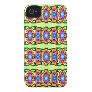 colorful ribbon pattern Case-Mate iPhone 4 case