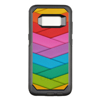 Colorful Ribbon Pattern OtterBox Commuter Samsung Galaxy S8 Case