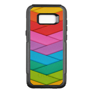 Colorful Ribbon Pattern OtterBox Commuter Samsung Galaxy S8+ Case