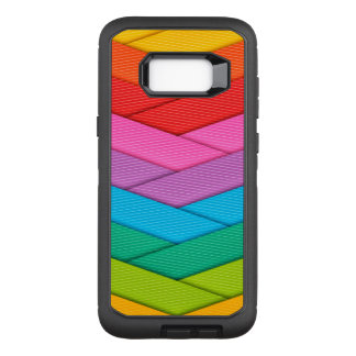 Colorful Ribbon Pattern OtterBox Defender Samsung Galaxy S8+ Case