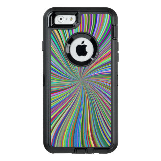Colorful Ribbon Swirl Spiral Optical Art OtterBox iPhone 6/6s Case