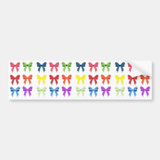 Colorful Ribbons Bumper Sticker