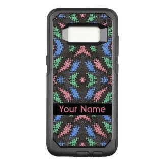 Colorful Ribbons on Black OtterBox Commuter Samsung Galaxy S8 Case