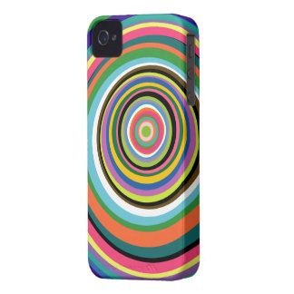 Colorful Rings iPhone 4/4S Case