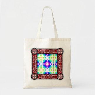Colorful Ripples Big Transparent Budget Tote Bag