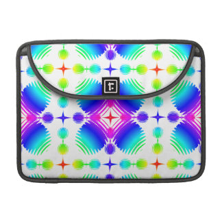 Colorful Ripples Big Transparent MacBook Pro Sleeve