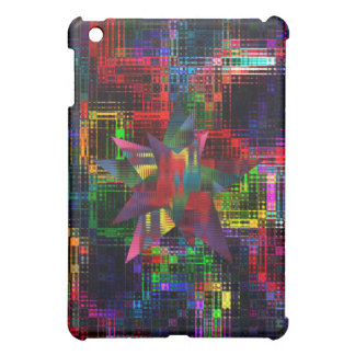 Colorful Ripples Case For The iPad Mini