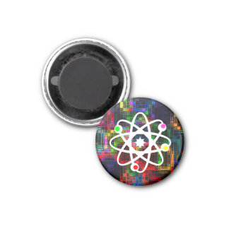 Colorful Ripples Refrigerator Magnet
