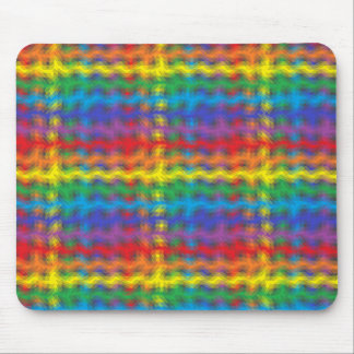 Colorful Ripples Mousepad