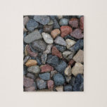 Colorful River Rock Puzzles