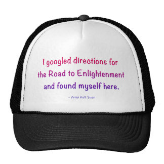 Colorful Road to Enlightenment cap Trucker Hat