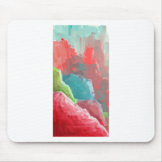 Colorful Rock  Formations Mouse Pad