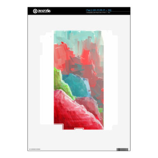 Colorful Rock  Formations iPad 2 Decal