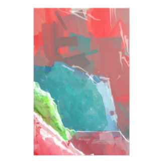 Colorful Rock  Formations Stationery