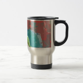 Colorful Rock  Formations Travel Mug