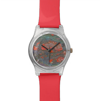 Colorful Rock Photography Designer Watch