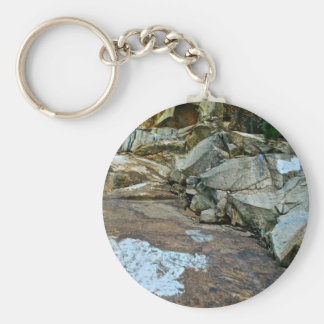 COLORFUL ROCKS IN KINGS CANYON KEYCHAIN
