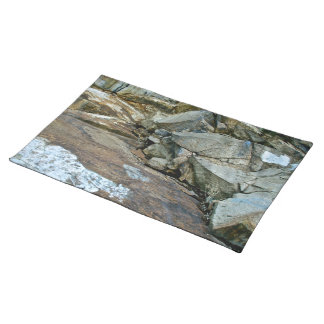 COLORFUL ROCKS IN KINGS CANYON PLACEMAT