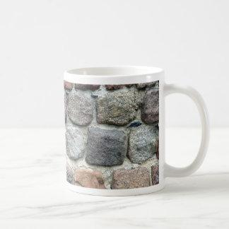 Colorful rocks wall design coffee mug