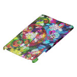 Colorful Romantic Vintage Floral Pattern Cover For The iPad Mini