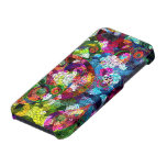 Colorful Romantic Vintage Floral Pern iPhone 5/5S Case