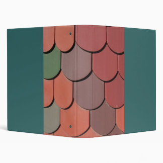 colorful roof 2 3 ring binder