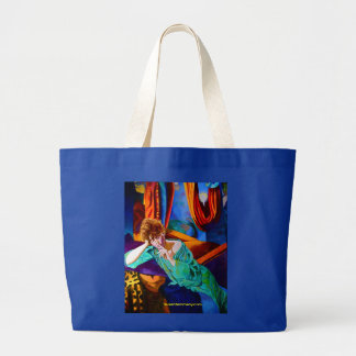 Colorful roomy tote