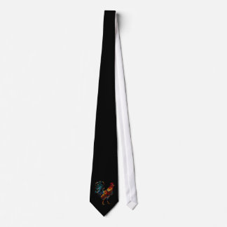 colorful rooster tie