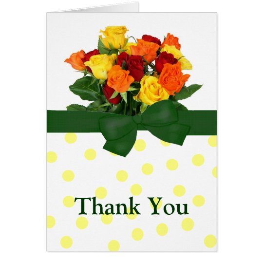 Colorful Rose Greeting Card