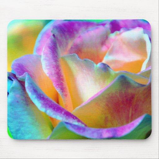 Colorful Rose Mousepad