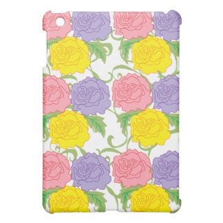 Colorful Roses and Vines iPad Mini Case