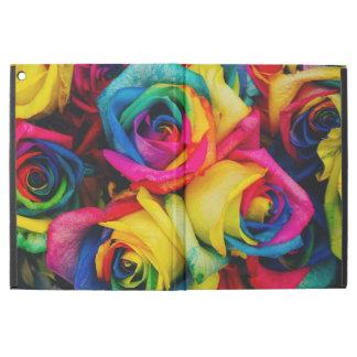 Colorful roses iPad pro case