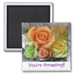 Colorful Roses-Magnet