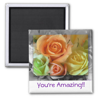 Colorful Roses-Magnet Magnet