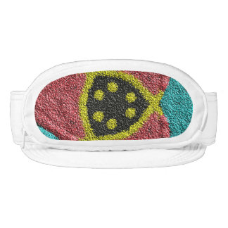 Colorful rough cool texture visor